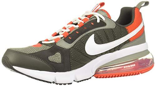 Nike Herren Sneaker Air Max 270 Futura Oliv Weiß Orange, Größe:44.5