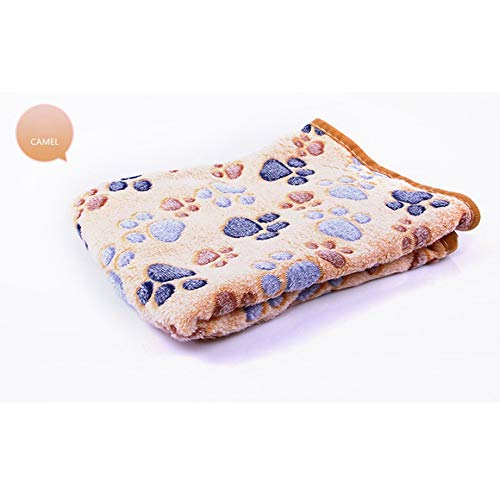 shizhongminghe-FR - Funda para asiento de coche, cama, resistente a los arañazos, para gato, perro, cama, suave, lavable, forro polar acolchado, color marrón