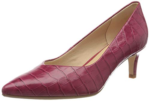 Clarks Damen Laina55 Court Pumps, Pink (Fuchsia Fuchsia), 40 EU