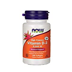 HIGHEST POTENCY/HELPS MAINTAIN STRONG BONES*: Vitamin D is normally obtained from the diet or produced by the skin from the ultraviolet energy of the sun. However, it is not abundant in food. SUNSHINE VITAMIN/SUPPORTS IMMUNE SYSTEM*: As more people a...