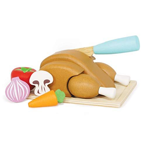 Le Toy Van Honeybake - Juego de asado de Madera con diseño de Pollo