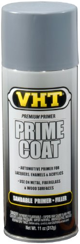VHT ESP304007 Prime Coat Light Gray Sandable Primer Filler Can - 11 oz.