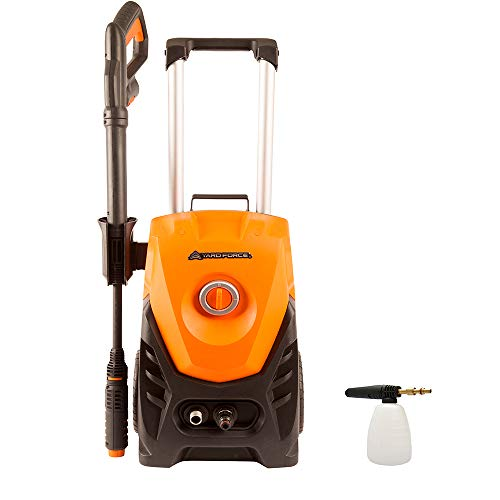 Yard Force 130 Bar 1800W High-Pressure Washer with Accessories 430l/h...