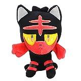 N\C 20-30cm Anime Vulpix Mimikyu Litten Rowlet Popplio Alola Plush Toys Soft Stuffed Animals Dolls Birthday for Kids
