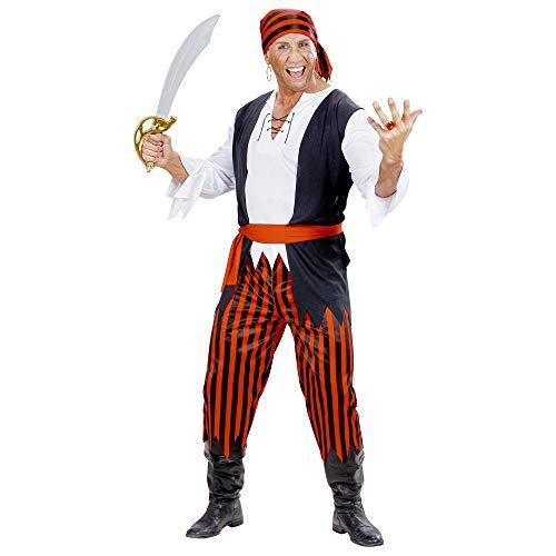WIDMANN wid7035p?Disfraz para adultos pirata caribeño, multicolor, XL