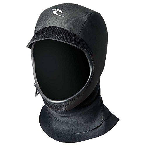 Rip Curl Flash Bomb 3mm Gb Hood, Black/Black, Large