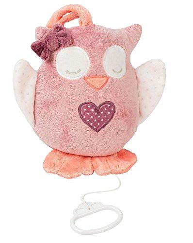 Nattou- Adele and Valentine NA424066-Alfombras de Juego y gimnasios, Color búho olly (424066) (Producto para bebé)