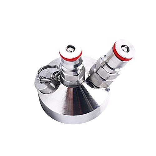 BEYTII Herramienta de Cerveza Mini dispensador de Grifo de Barril para Mini dispensador de Cerveza de Acero Inoxidable Grifo de Barril casero 3.6L / 5L / 10L (Color : Silver)
