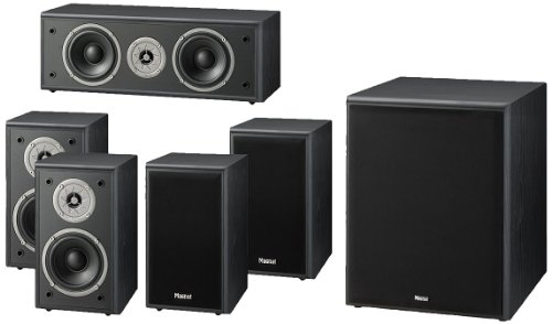 Magnat Monitor Supreme 100 2-Wege 5.1 Lautsprechersystem (110 Watt)