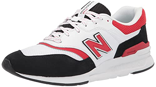 New Balance 997H V1, Zapatillas Hombre, Blanco y Negro, 42.5 EU