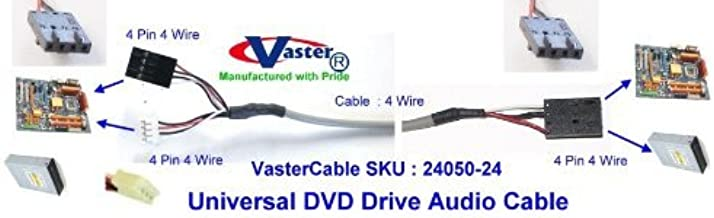 5 Pcs / Pack 2 Ft CD-Rom / DVD / CD-Writer / DVD-Writer(2 DVD Drive to Any Sound-Card) Audio Cable
