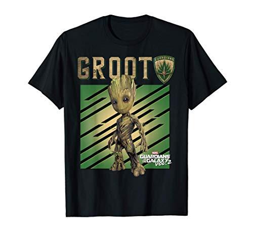 Marvel Guardians Vol. 2 Baby Groot Shield Maglietta
