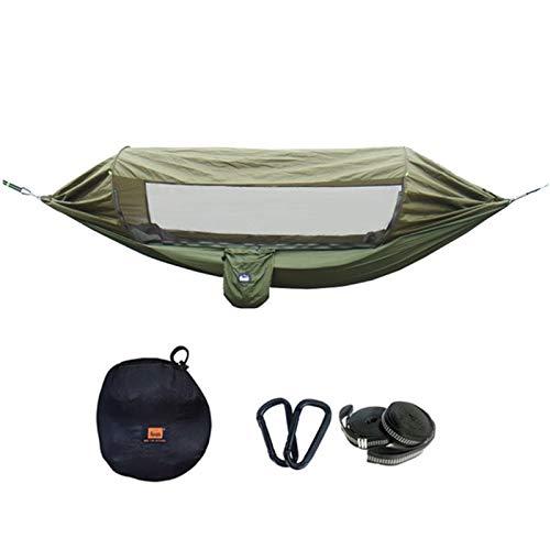XHLLX Hamaca de Camping Multifuncional para al Aire Libre Material de paracaídas de sombrilla Hamaca portátil a Prueba de Insectos al Aire Libre para Acampar