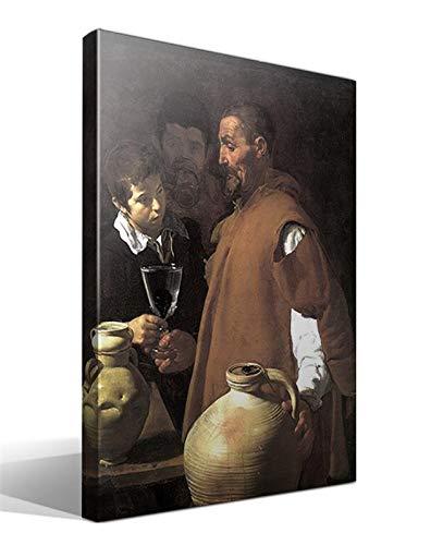 cuadrosfamosos.es Cuadro Canvas El aguador de Sevilla de Diego Rodríguez de Silva y Velázquez
