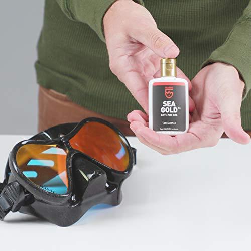 41BkG pZgML - Gear Aid Sea Gold Anti-fog Gel Coating for SCUBA Dive Masks, 1.25 oz, 2 Pack