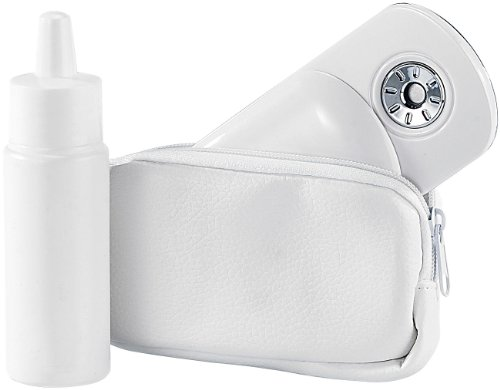 newgen medicals Nano Spray: Mikro-Nebel-Zerstäuber als Ventilator-Ersatz zur Gesichts-Erfrischung (Wasserzerstäuber elektrisch)