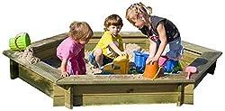 Sandkasten 6-eck von Gartenpirat