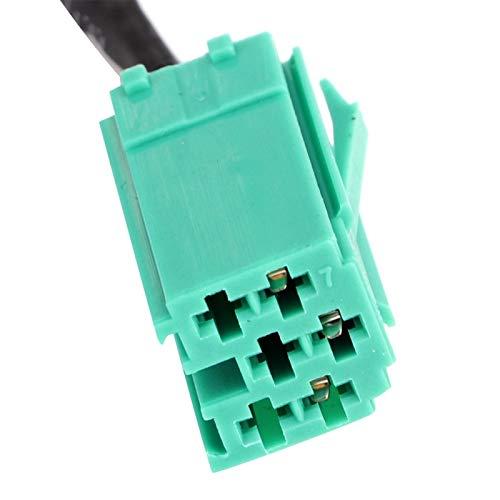 Cable de audio, Emparejamiento automático muy adecuado Fácil de instalar Proceso preciso Asegura la estabilidad Piezas del automóvil, reemplazo directo · Trabajador de mantenimiento para