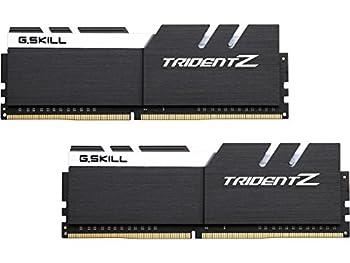 G.SKILL 16GB  2 x 8GB  TridentZ Series DDR4 PC4-30900 3866MHz Memory Desktop Memory Model F4-3866C18D-16GTZKW