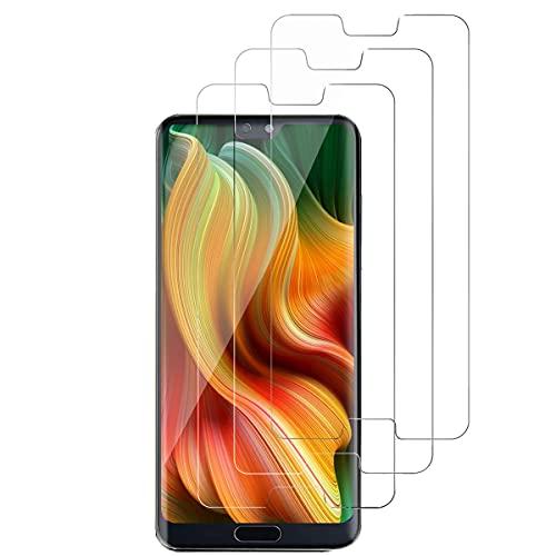 Panzerglas Displayschutzfolie für Huawei P20 Pro, 9H Härte, Anti-Kratzen,0.33mm Ultra-klar, Anti-Fingerabdruck, Ultrabeständig, Anti-Bläschenm, Schutzfolie für Huawei P20 Pro-[3 Stück]