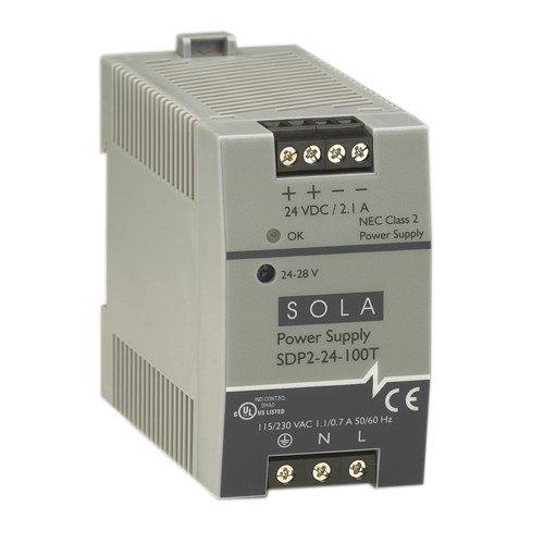 Sola/Hevi-Duty SDP2-12-100T DC Power Supply, 10-12 VDC, 3-2.5 Amp, 43-67 Hz
