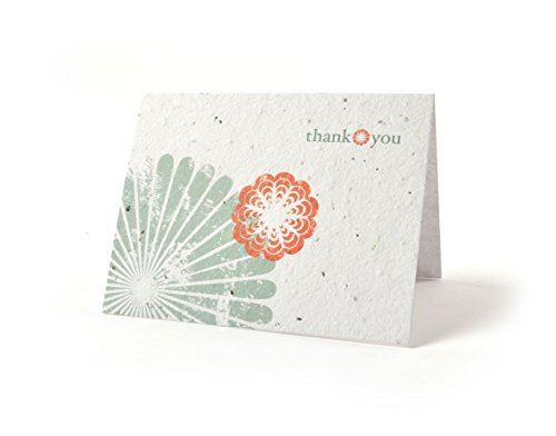 Bloomin Thanks A Bunch Seed Paper Greeting Cards - Cherry Blossom {8 Pack}