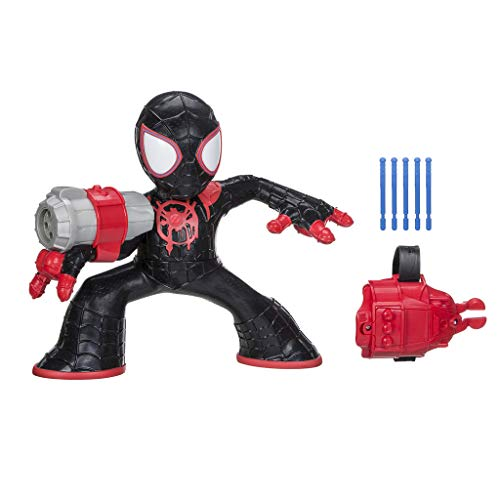 Spider-Man: Into The Spider-Verse Shockstrike Mile Morales Super Hero Electronic Action Figure Toy