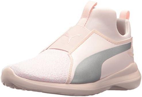 PUMA Unisex-Child Rebel Mid Sneaker