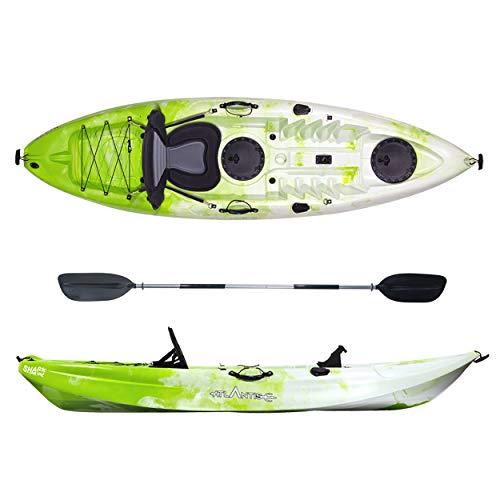 ATLANTIS Kayak-Canoa Shark Lime/Bianco cm 280-2 gavoni - seggiolino -...