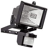 Hillington 400W Motion PIR Sensor Halogen Floodlight Security Garden Outdoor Light-Provided with A