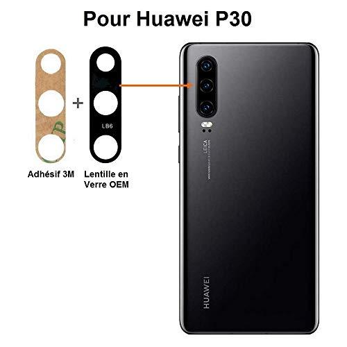 pas cher un bon FLEXIPHONE Original pour Huawei P30 Lentille en verre de qualité d'origine, vitre d'appareil photo…