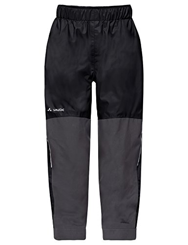 VAUDE Kinder Hose Escape Padded Pants III, black uni, 122/128, 41541