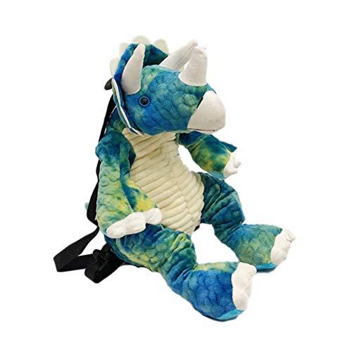 Hinder Mochila de dinosaurio 3D, mochila escolar para padres e hijos, niñas y niños, ideal para viajes de día de hombro, mochila grande