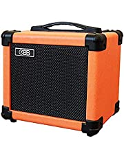 OBB Dual-Powered Bluetooth Guitar Amp, Portable Electric Guitar Amplifier with 10W Speaker, Guitar Amplifier Includes Gain/Bass/Treble knob