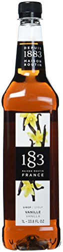 1883 Routin Vanilla Syrup, 1er Pack (1 x 1 l)
