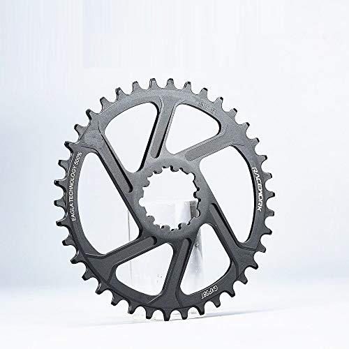 Hojuan GXP MTB Mountain Bike 30T / 32T / 34T / 36T / 38T Corona Bicicleta Plato/Fit For/Sram 11 / 12S NX XX XO GX GXP11 Bandeja de Disco único (Color : Offset 3mm 36T)