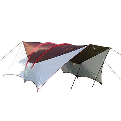 XTBB Zeltdach, Auto, Zelte, Camping, Outdoor, Party, Beach, Shelter, Dachzelt, wasserdicht, große Familie, Zelte Coffeewhite