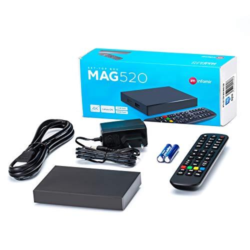 HB-DIGITAL MAG 520 IPTV HEVC H.265 4K UHD 60FPS Linux USB 3.0 LAN Internet TV HDMI Cable