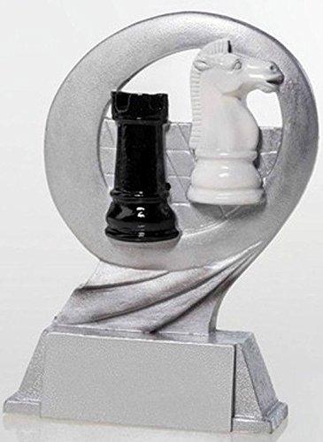 RaRu Schach-Pokal Resin-Figur mit Wunschgravur
