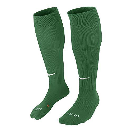 Nike Unisex erwachsene Matchfit Cushioned Sockenstutzen, Grün (dunkelgrün/Weiß/302), L (42-46 EU)