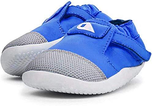 Bobux Xplorer Origin, Slip-on Sneaker Unisex-Bambini, Blu Sapphire 1, 21 EU