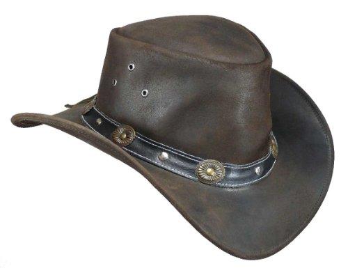 Scippis - Chapeau western - Homme - Marron - Marron - moyen