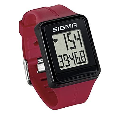 Sigma Sport Pulsuhr iD.GO rouge, Herzfrequenz-Messung, Fitness-Laufuhr, Rot