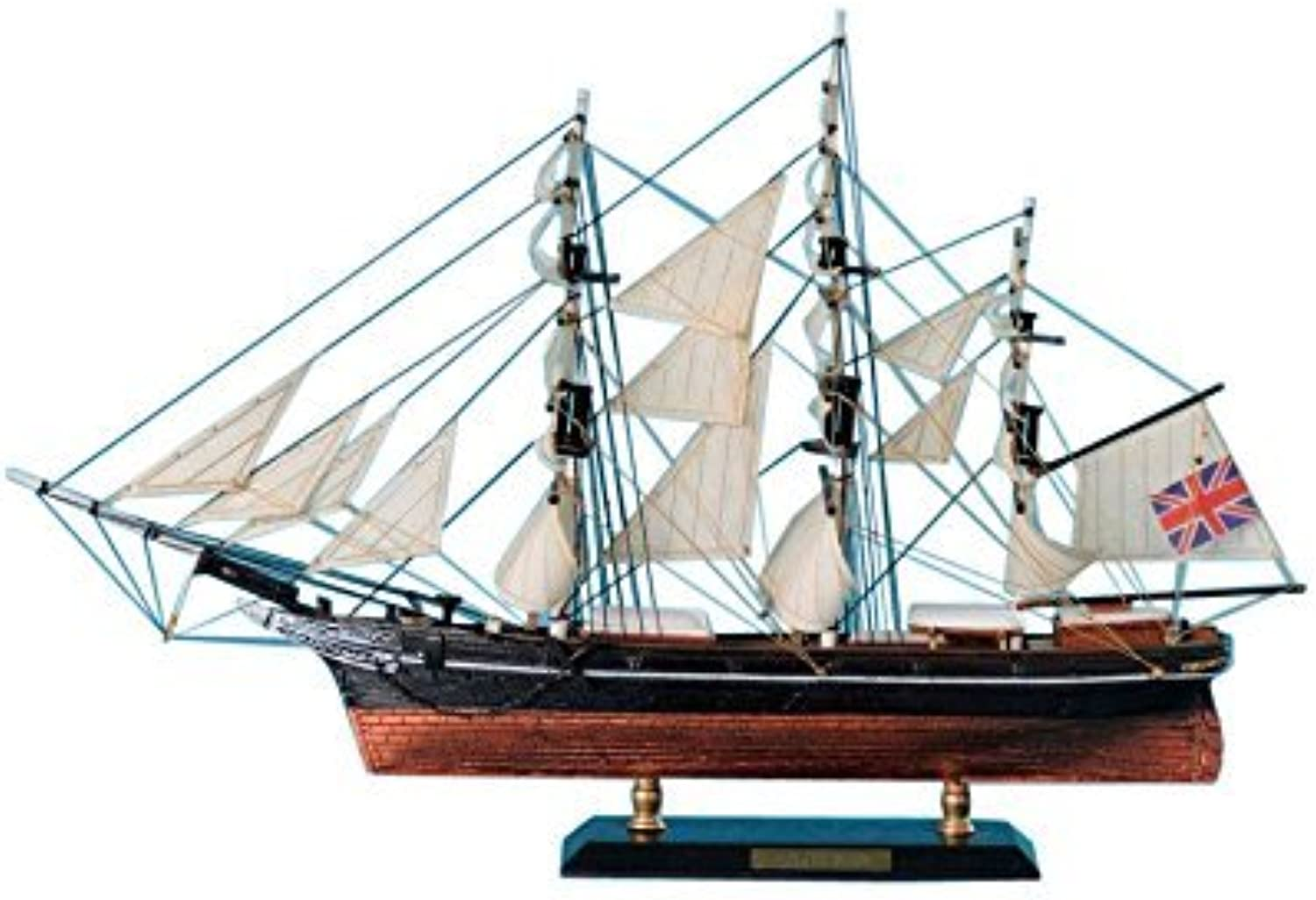 Star of India Limited 15 - Wood Tall Ship Model - Decorative Wooden Boat - Nautical by Handcrafted Model Ships