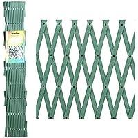 Papillon 8091555 Celosia PVC Verde Extensible 4x1 Metros, 4x1m