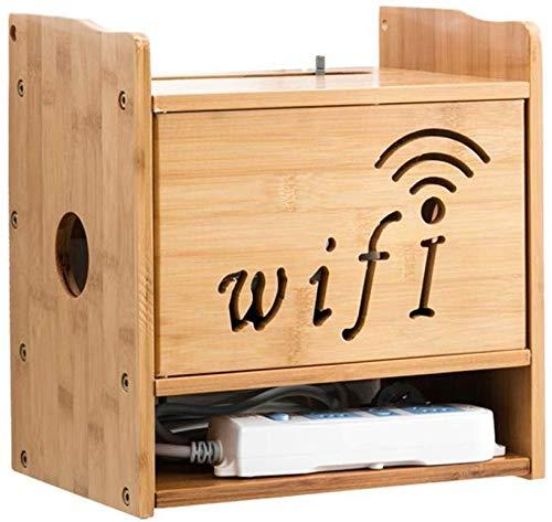 ZXYY WiFi Router Set Top Box Opbergdoos Kabel Box CD DVD Speler Wandplank Kleine Plank Multifunctionele Display Plank (Kleur : A) A