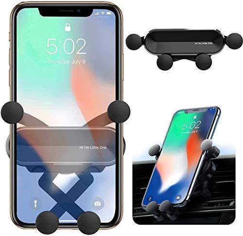 ORYCOOL Support Téléphone Voiture, Gravité Porte Telphone Voiture, Universel Support Smartphone Voiture, Support à Grille d'Aération avec Rotation 360°, pour Phone12/12 Pro, Samsung(4.7 ''- 6.8 '')
