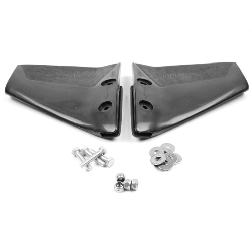wellenshop Hydrofoil Trimmklappen Stabilisator 50-300 PS Außenborder-Motor Edelstahlbefestigung 270 x 240 mm Motor-Boot
