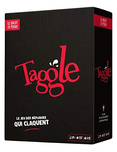 Le Droit de Perdre- Taggle (Nouveau Format) Jeu de Societe, DRO0016TA, Multicolore