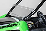 Compatible with Arctic Cat Wildcat Trail/Sport Half UTV Windshield 3/16' Made in The USA!.
